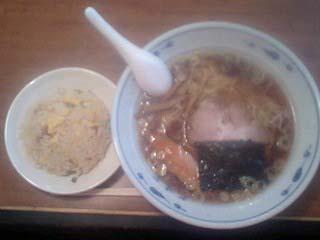江浦 ラーメン店 丸味屋 チャーハンセット
