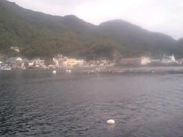 静岡県沼津時江浦湾に到着