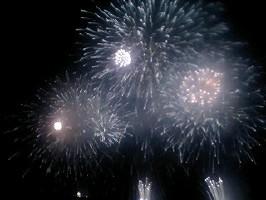 静岡県沼津市江浦湾花火大会の花火10