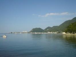 朝の江浦湾の絶景0