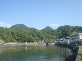 朝の江浦湾の絶景2