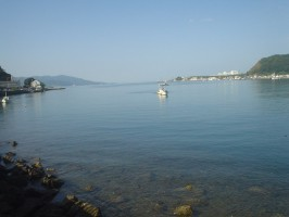 朝の江浦湾の絶景3