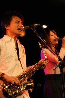 2008.11.24伊勢賢治Live@新中野弁天-伊勢賢治(Vo),Mako(Cho)