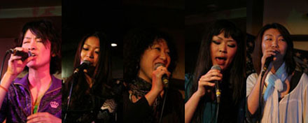 素晴らしい女性Vocal陣