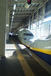 越後湯沢駅到着!
