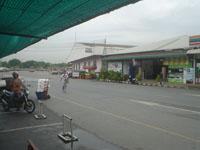 バスターミナルの食堂からの風景