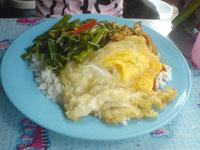 タイ風ぶっかけ飯