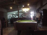 昼間の宿の食堂3