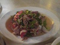 牛肉のサラダ(ヤム・ヌア)