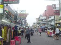 タイのカオサン通り1