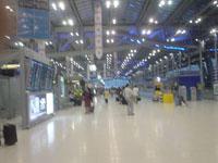 タイのスワンナプーム空港1